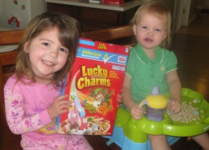 St. Patrick's Day Lucky Charms
