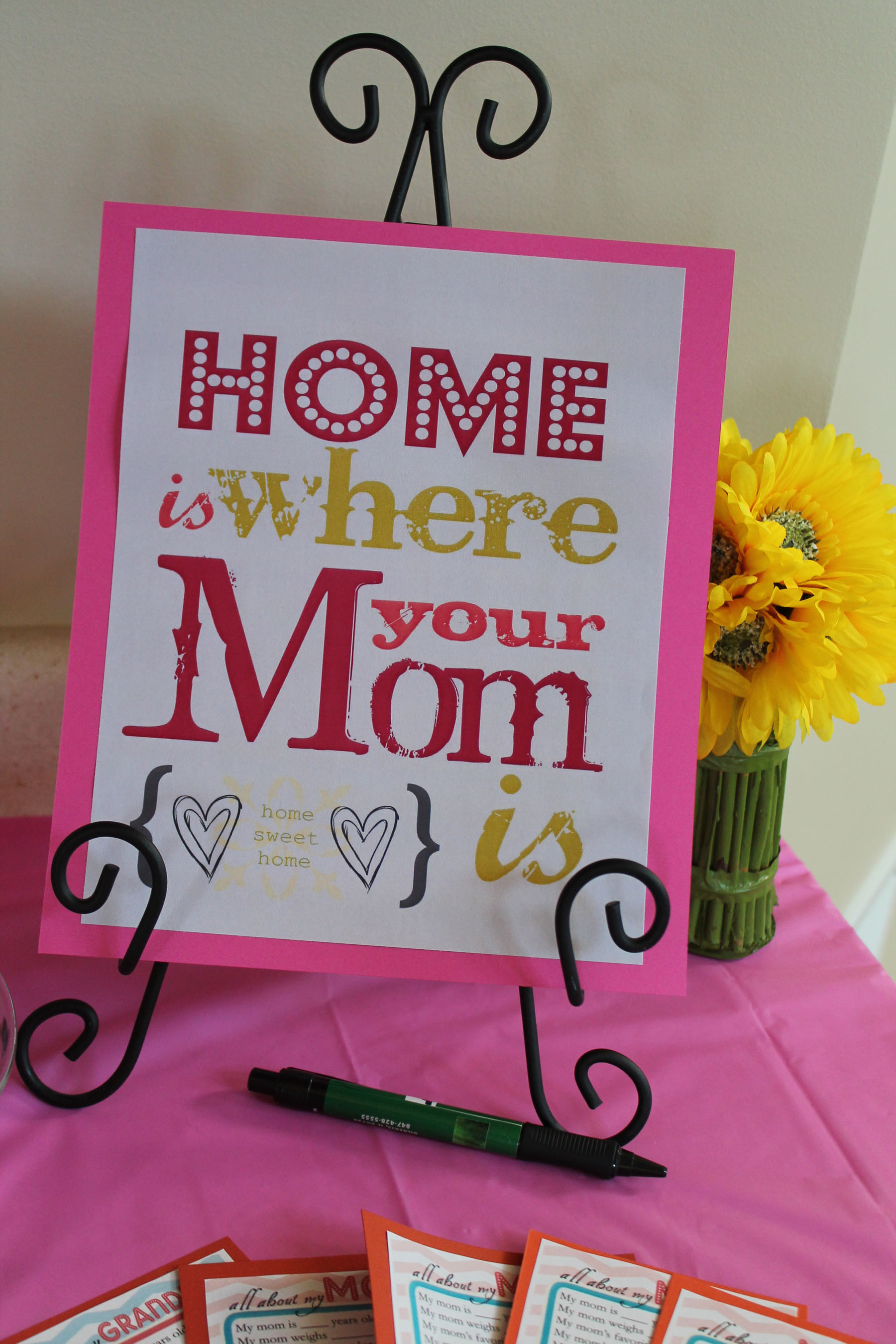 mother\'s day decoration ideas Mother's Day Subway Art | ipinnedit mother\'s day decoration ideas