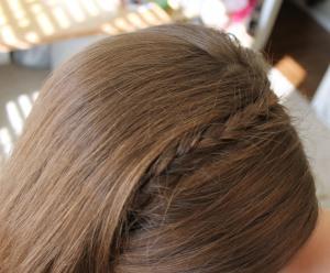 braided hair headband easy and fast ipinnedit