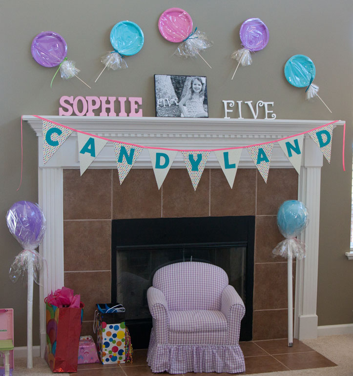 Sophies Candyland 5th Birthday Party